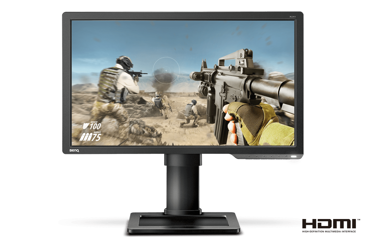 XL2411P Best 144Hz Gaming Monitor for FPS Esports- front