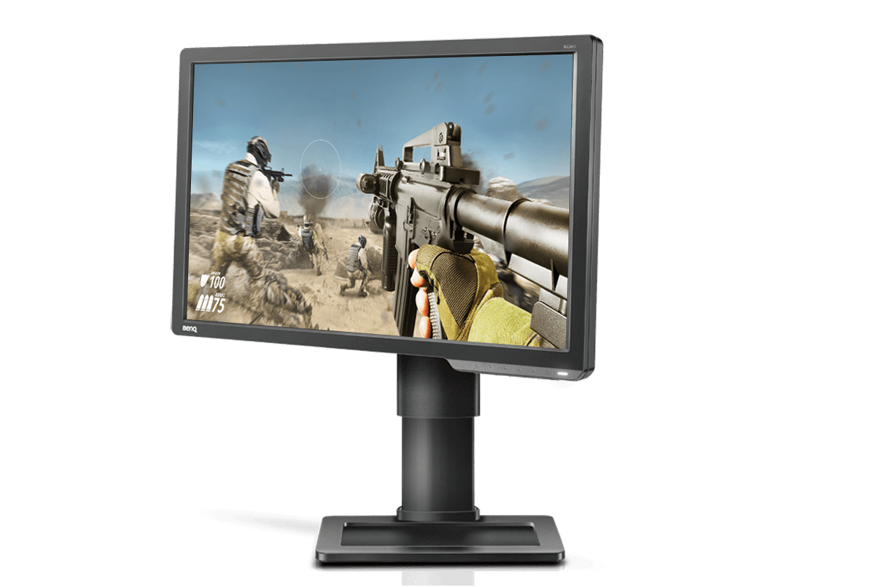 XL2411P Best 144Hz Gaming Monitor for FPS Esports - Left 15