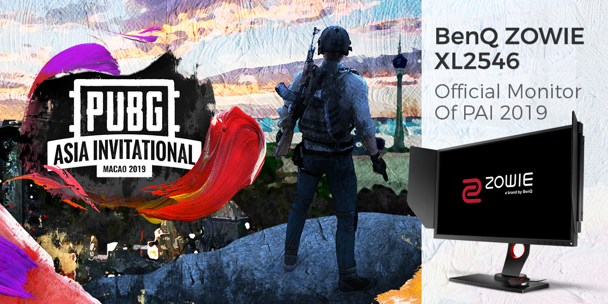 BenQ ZOWIE XL2546 Official Monitor of PAI 2019
